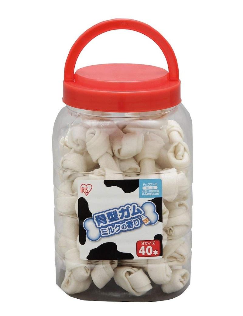 アイリスオーヤマ,骨型ガム ミルク味,SP-MGB40S