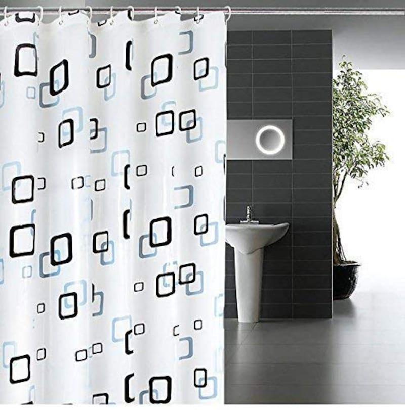 JPpro,シャワーカーテン チェック柄