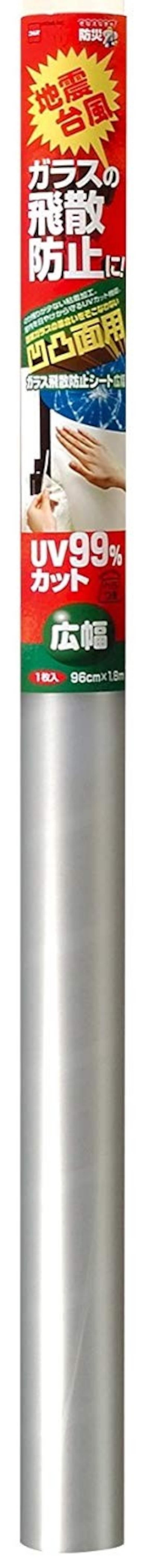ニトムズ,ガラス飛散防止シート 凹凸面用,M6080