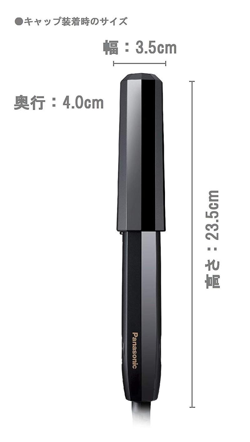 Panasonic(パナソニック),ヘアアイロン コンパクトサイズ,EH-HV15-K