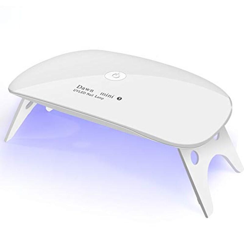 GOFU ,UV+LEDネイルドライヤー 折りたたみ式