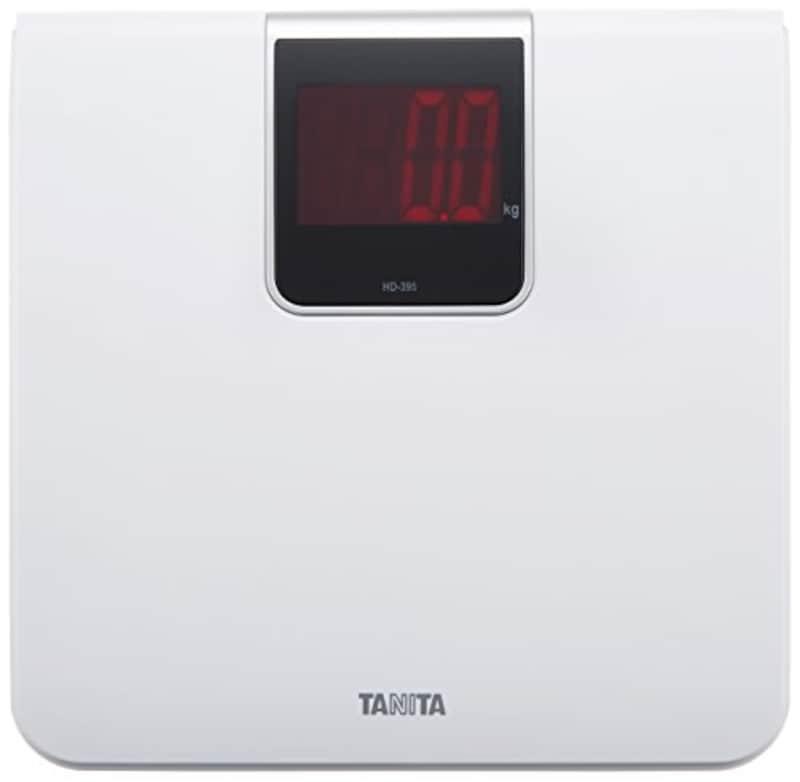 タニタ(TANITA),デジタル体重計,HD-395
