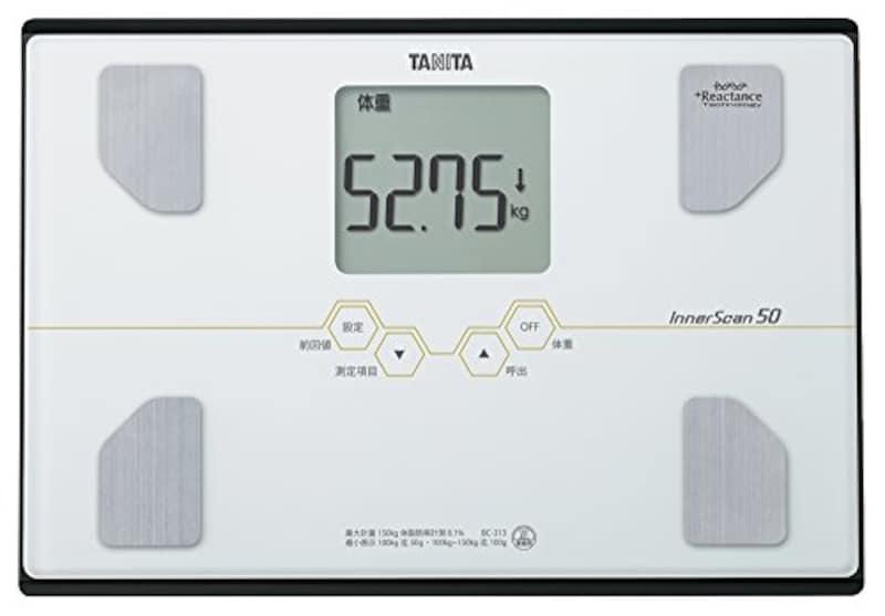 タニタ(TANITA),体重・体組成計,BC-313-WH