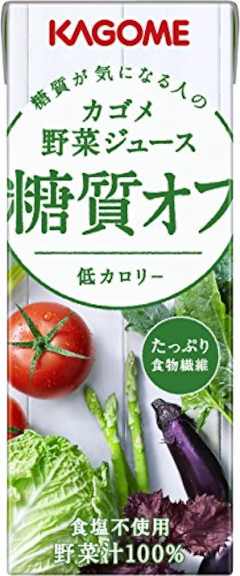 カゴメ,野菜ジュース 糖質オフ 200ml×24本
