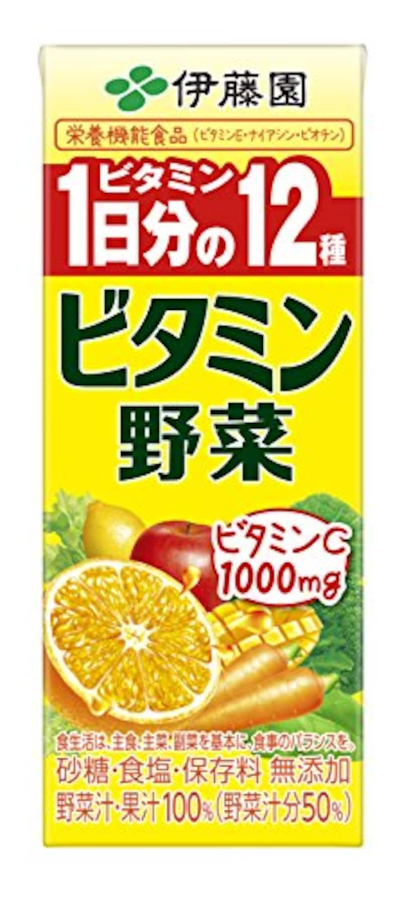 伊藤園,ビタミン野菜 (紙パック) 200ml×24本