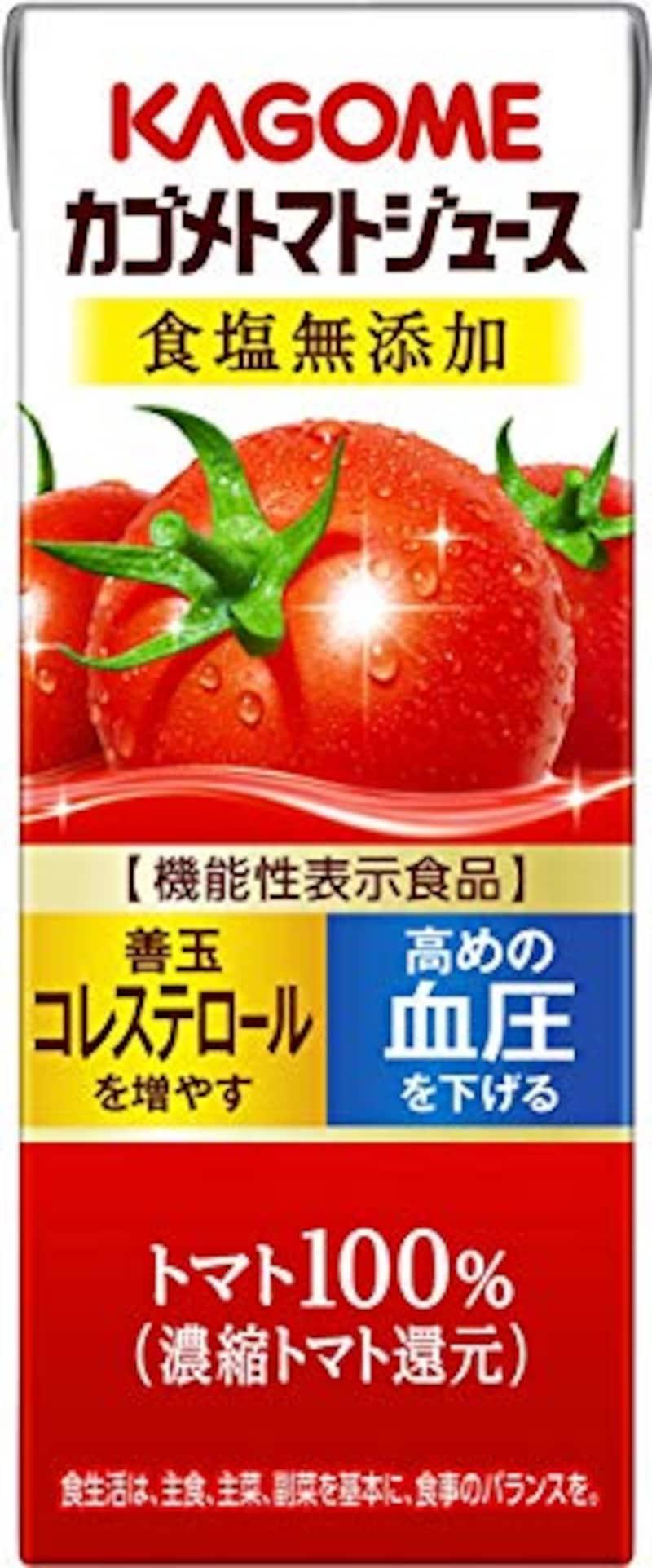 カゴメ,トマトジュース 食塩無添加 200ml×24本