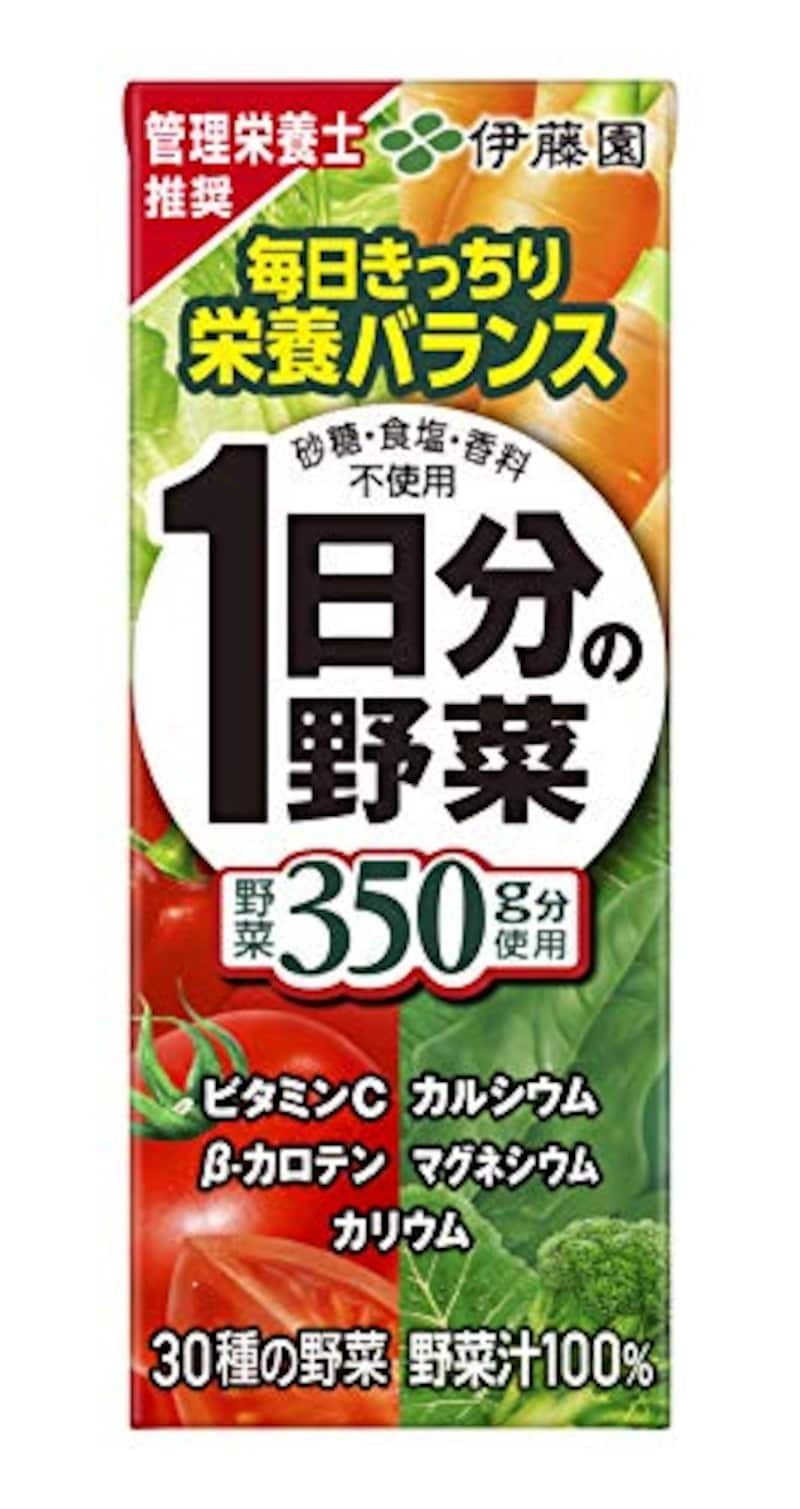伊藤園,1日分の野菜 (紙パック) 200ml×24本