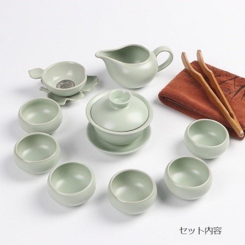 緑風店,陶磁器 景徳鎮 茶器セット,CYA-001