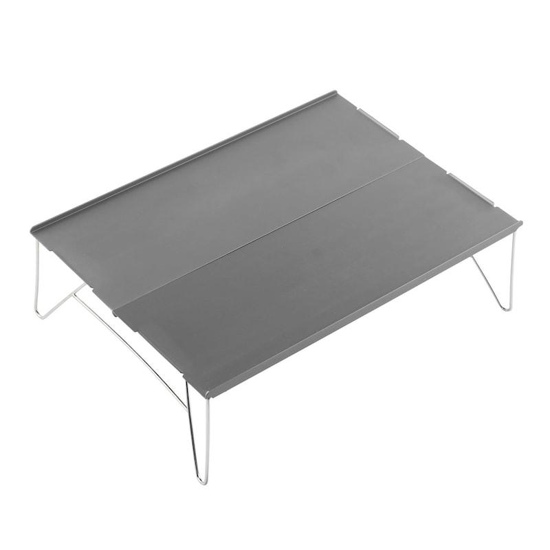 FLYFLYGO,テーブル アルミ製 組み立て式