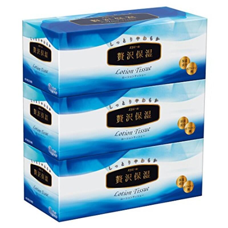 大王製紙,エリエール 贅沢保湿 3箱