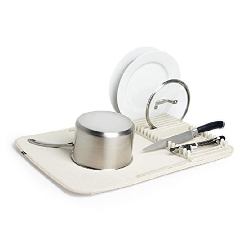 umbra(アンブラ),ドライングマット お皿立て付き マイクロファイバー,-