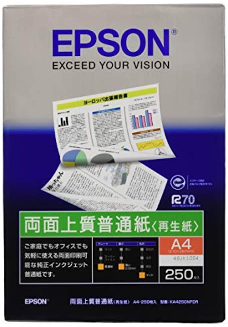 エプソン,純正両面上質普通紙,KA4250NPDR