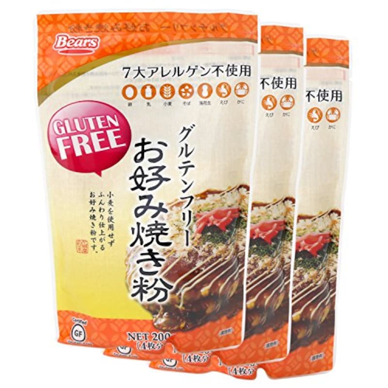 熊本製粉,グルテンフリー お好み焼き粉