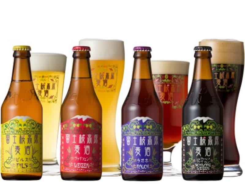 富士観光開発,富士桜高原麦酒 飲み比べ4本セット