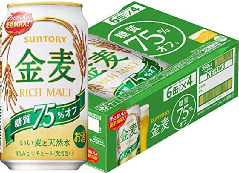 サントリー,新・金麦 糖質75%オフ