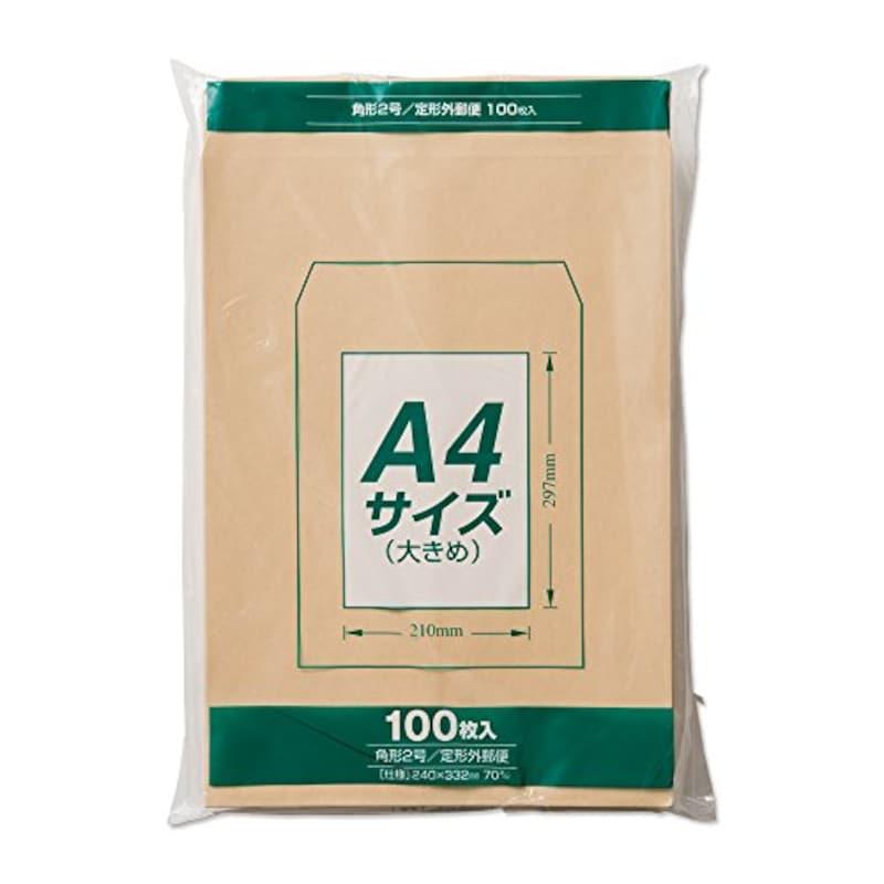 マルアイ ,クラフト角形2号封筒 ,PK-Z127
