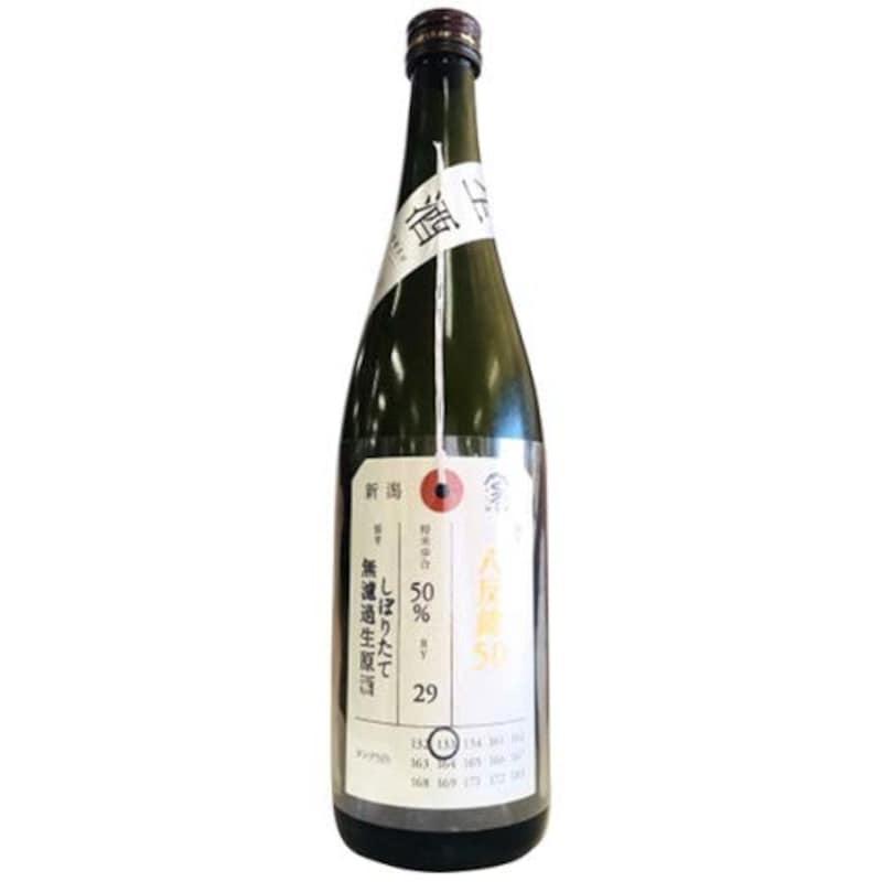 加茂錦純米大吟醸荷札酒