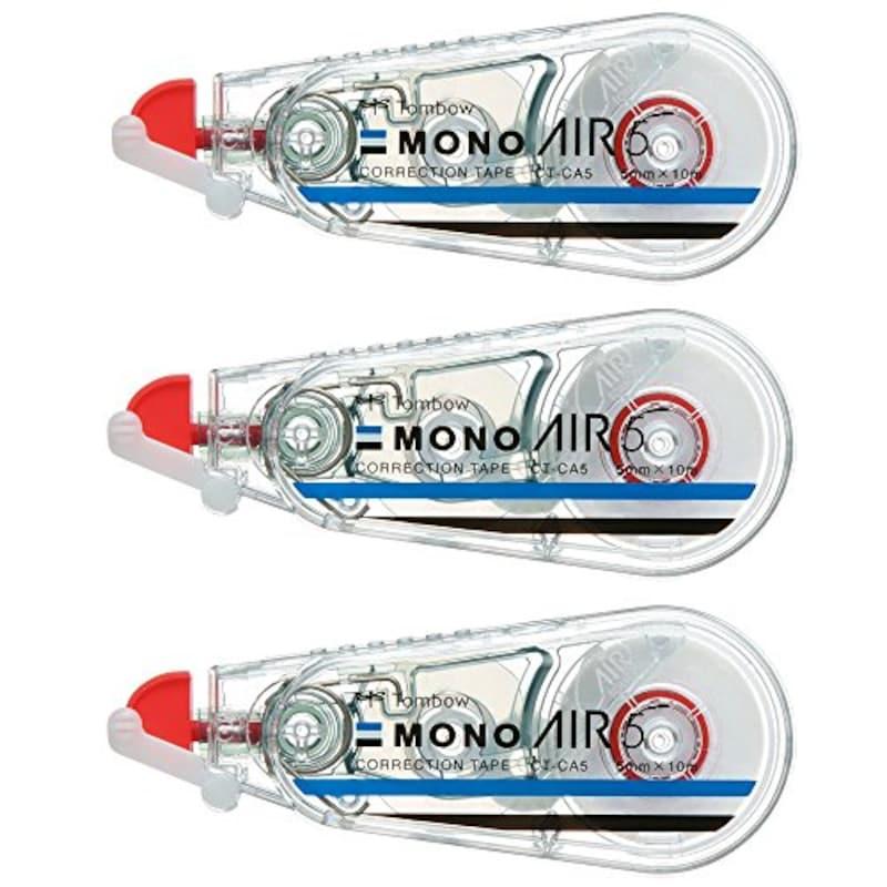トンボ鉛筆,修正テープ MONO AIR5 3個セット,KPB-325