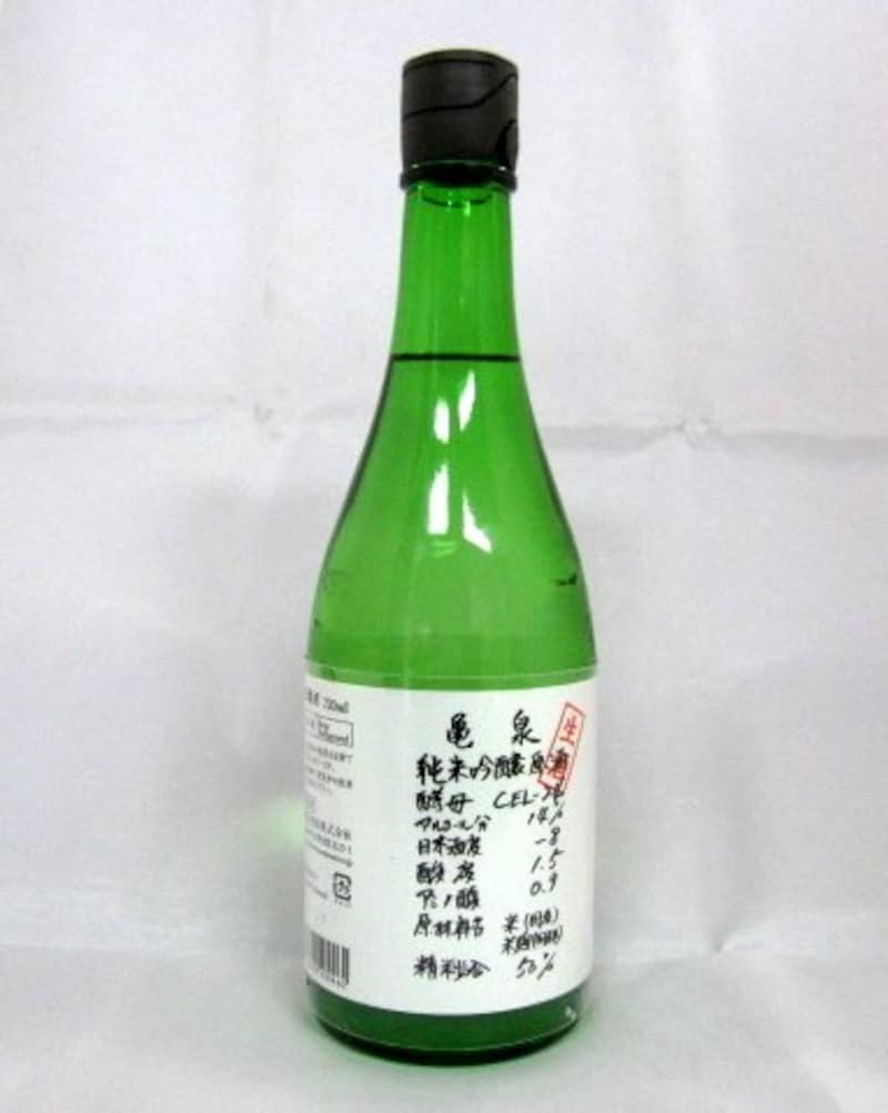亀泉,純米吟醸生原酒