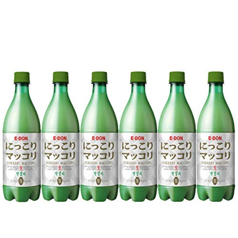 E-DON(イードン),にっこりマッコリ 生 6本