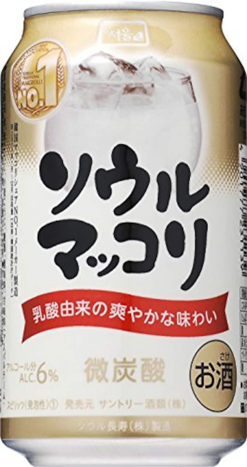 サントリー,ソウルマッコリ 24本