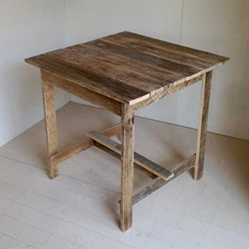 フォリアフィオーレ,リサイクルウッドカフェテーブル
