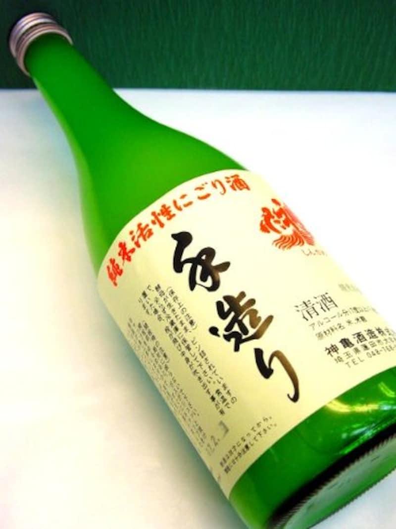 神亀酒造,純米活性にごり生酒
