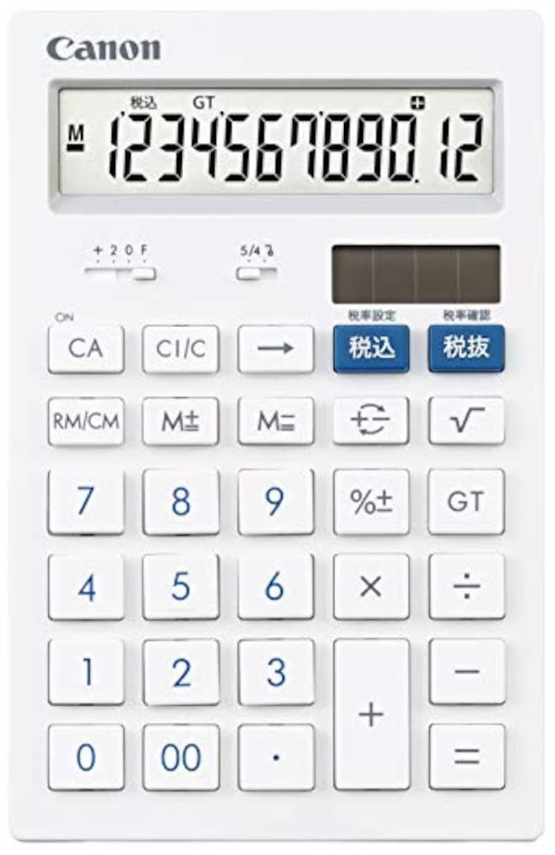 キャノン,卓上電卓,HS-121T