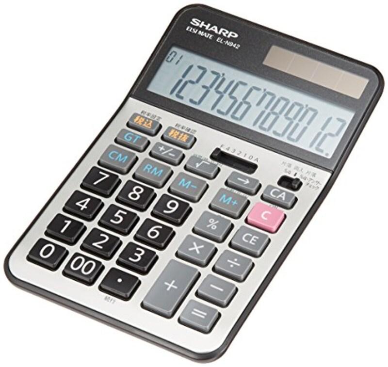 シャープ,実務電卓,EL-N942X