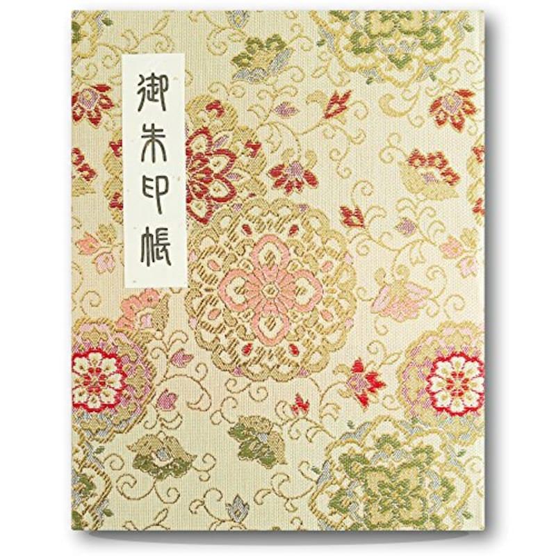 法徳堂,御朱印帳 ビニールカバー付 華紋唐草,APD008 GOLD