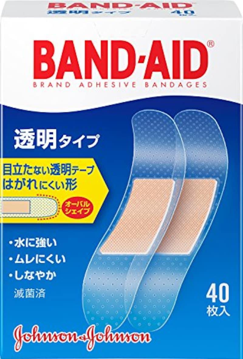 Johnson&Johnson,BAND-AID救急絆創膏 透明タイプ
