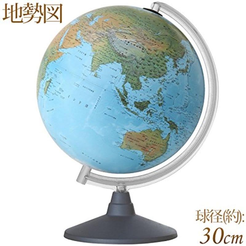 オルビィス,地球儀 地勢図,43340