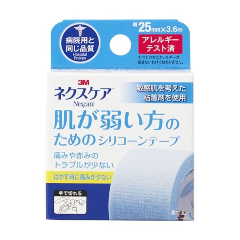 3M(スリーエム),ネクスケア 肌が弱い方のためのシリコーンテープ