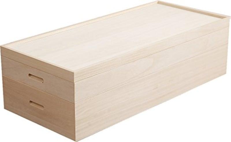 ナサ流通企画,桐衣装箱 セミロング 2段,HI-RH0014