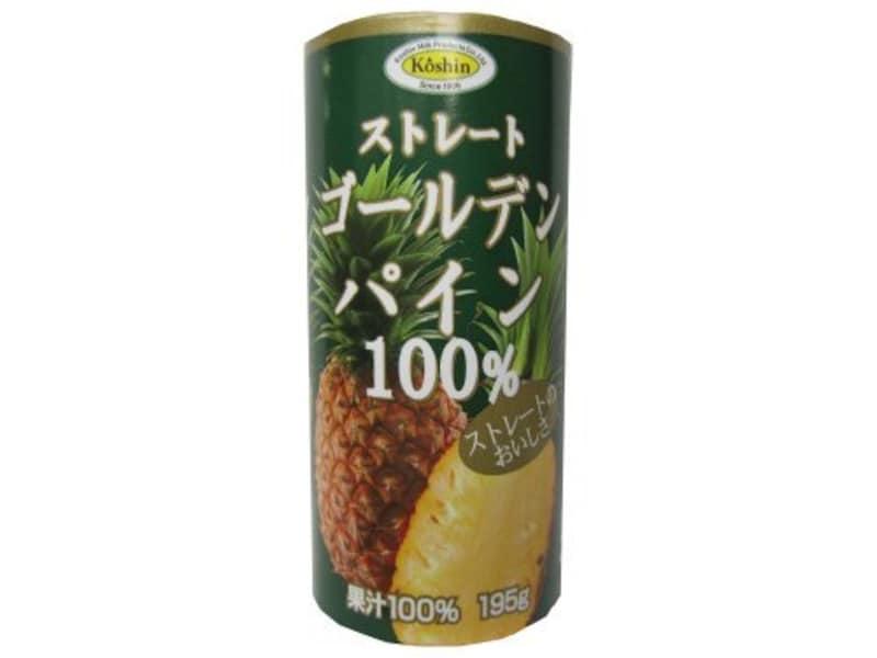 コーシン乳業,ストレートゴールドパイン100%
