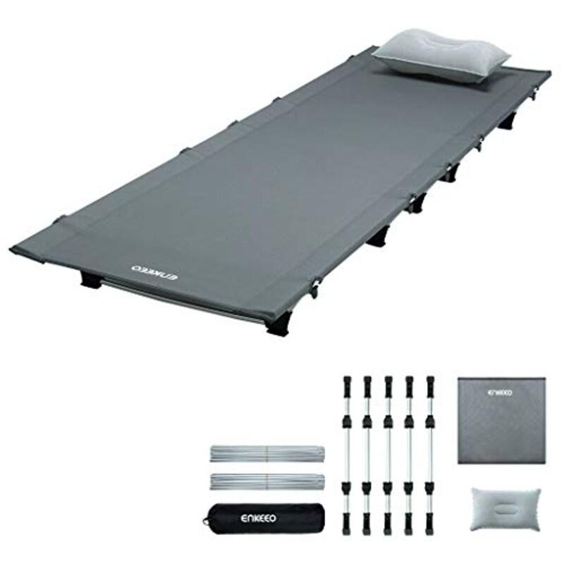 ENKEEO,折たたみベッド 空気枕付き