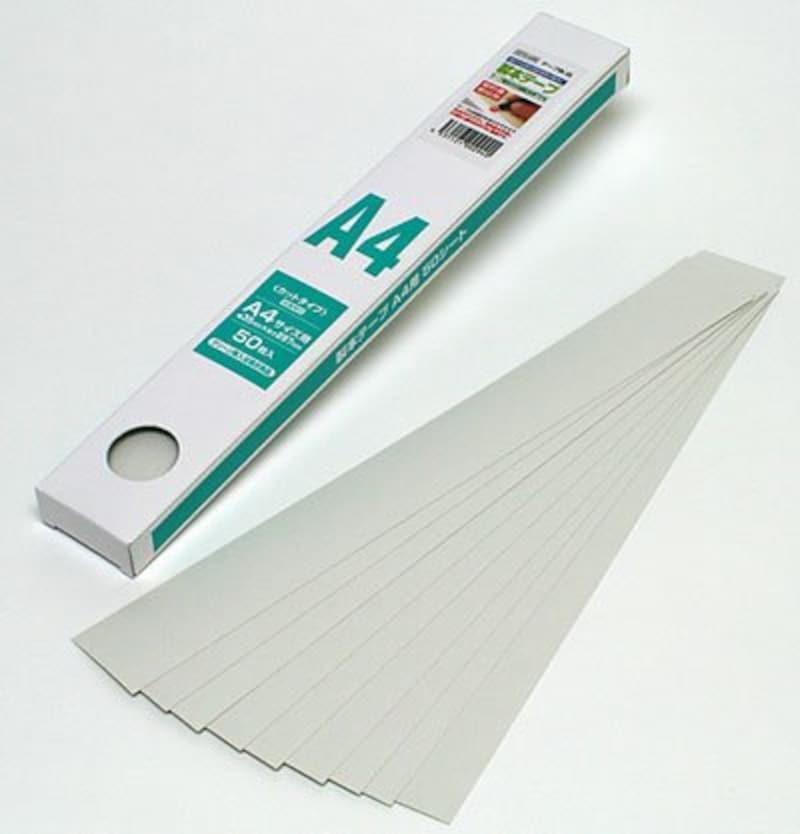 清和産業,製本テープ A4カット 業務用(契約書割印用),SSTG-A4W