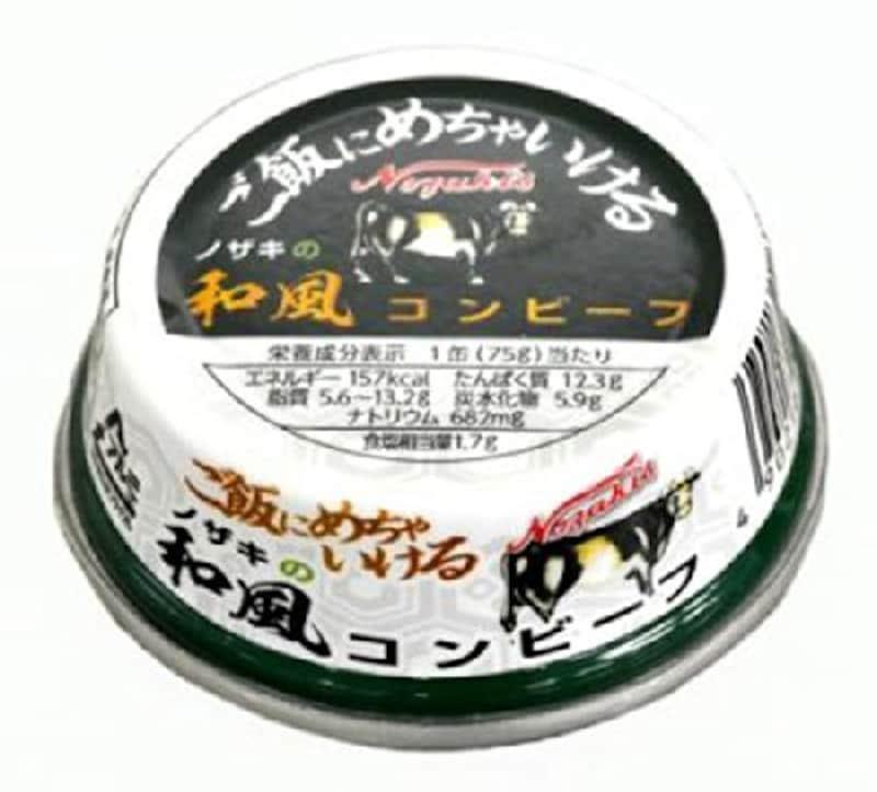 川商フーズ,ノザキ 和風コンビーフ 75g×6,B00KCHJAFW