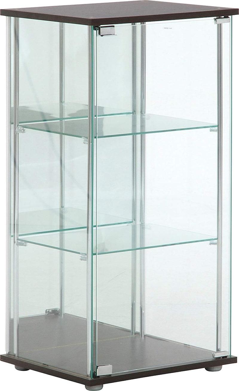 不二貿易,ガラス製3段コレクションケース,96048