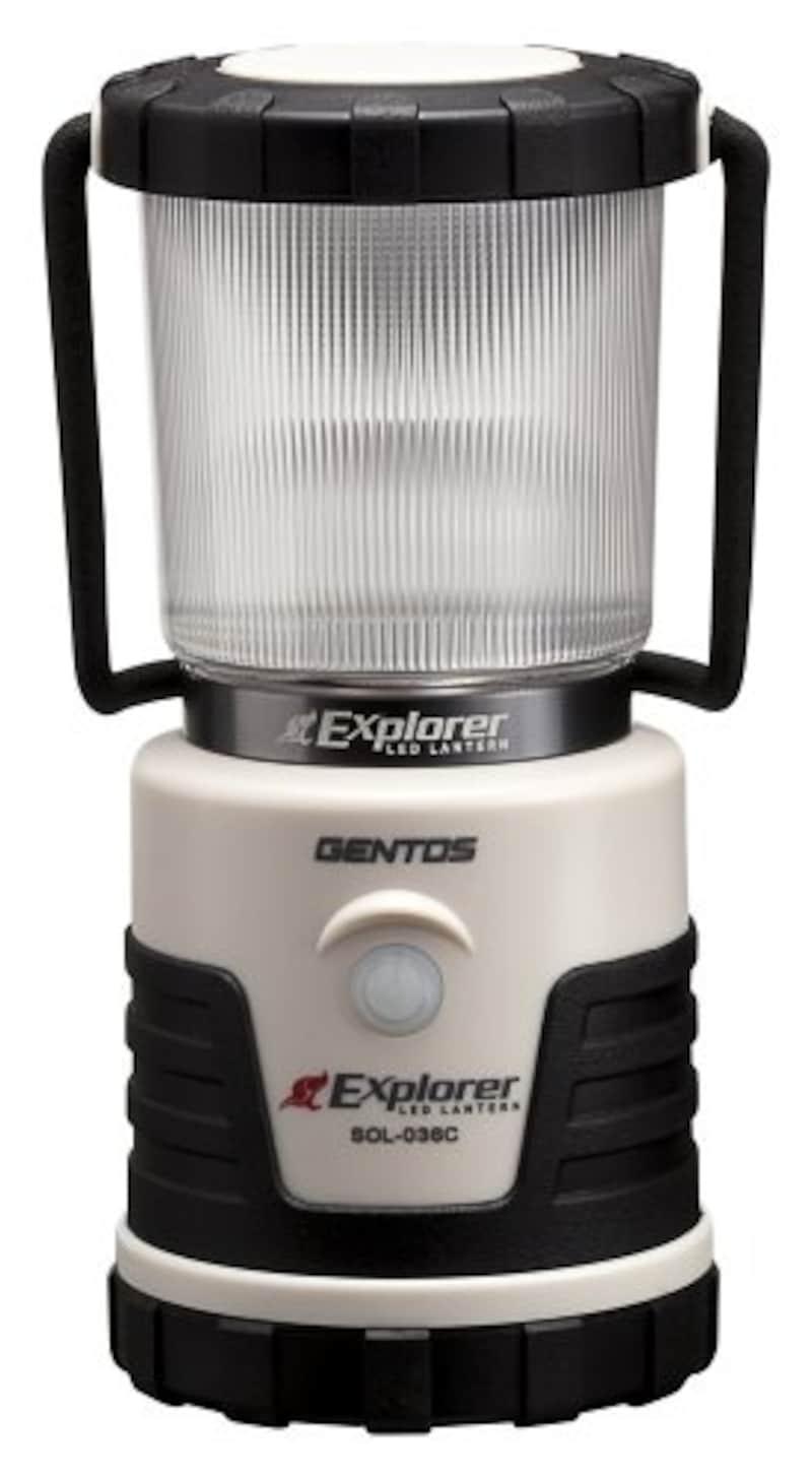 GENTOS,エクスプローラー SOLシリーズ,SOL-036C