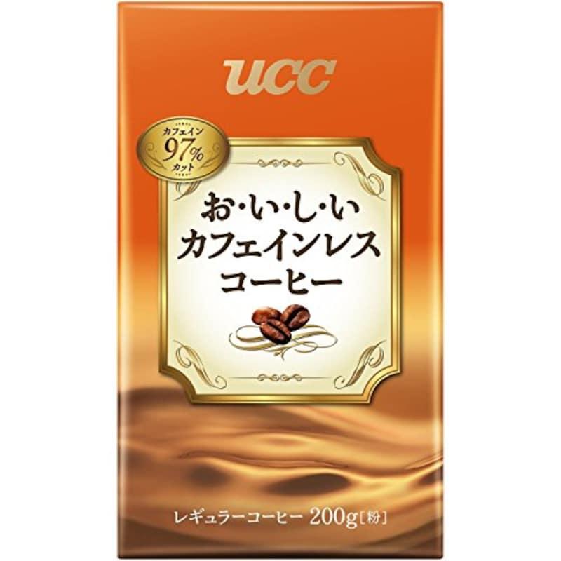 UCC,おいしいカフェインレスコーヒー コーヒー豆 ,-