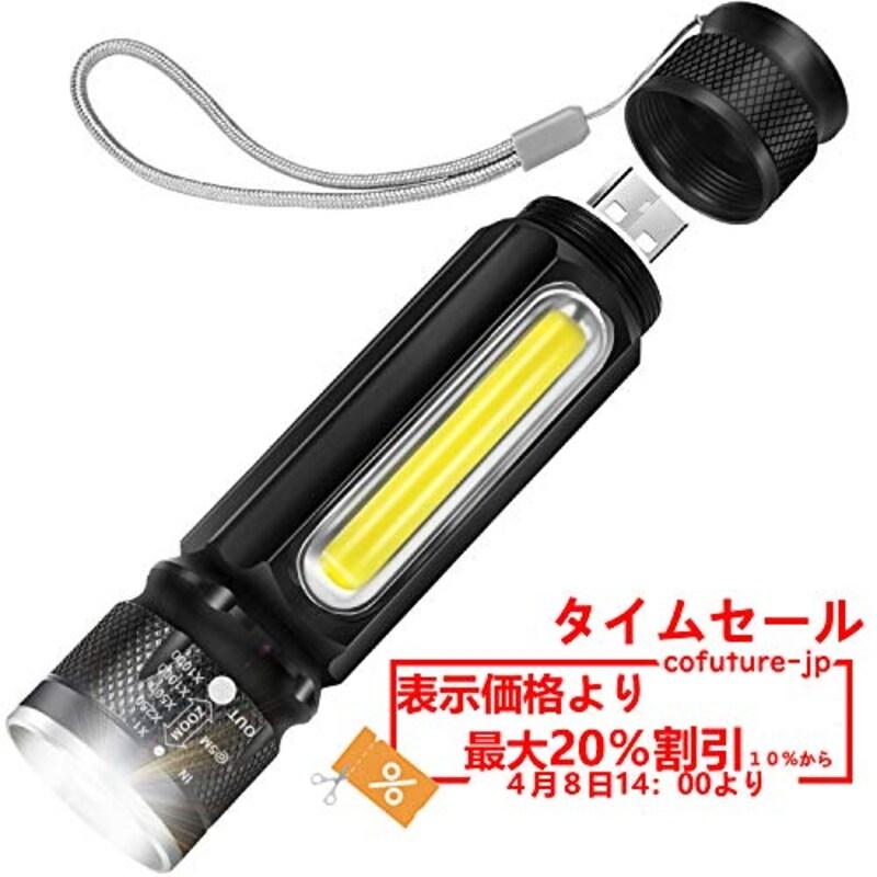 Cofuture,高輝度 LED 懐中電灯