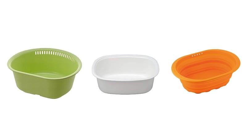 洗い桶のおすすめ人気ランキング10選|洗い物をもっと効率的に