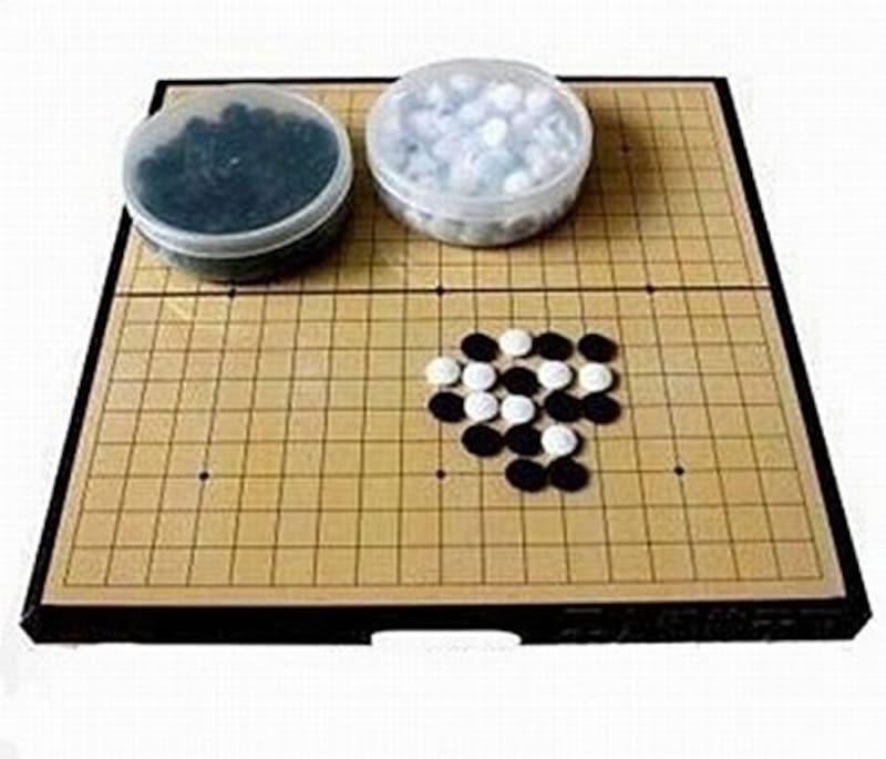 Amateras,囲碁盤 セット 折りたたみ式,MT151