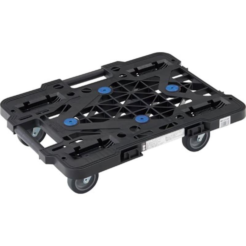 TRUSCO,連結樹脂平台車,MPK-500J-BK