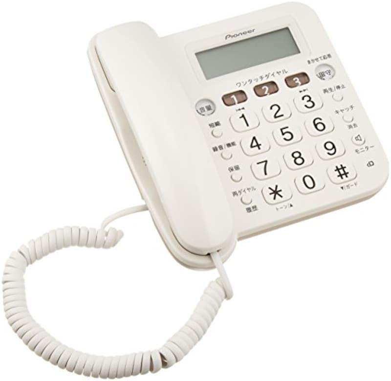 パイオニア,留守番電話機,TF-V75