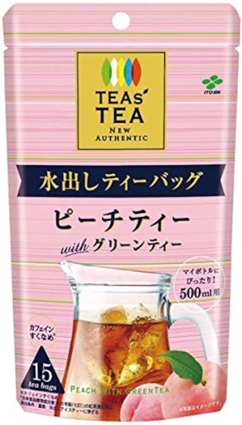 TEAS'TEA,ニュー オーセンティック ピーチティーwithグリーンティー