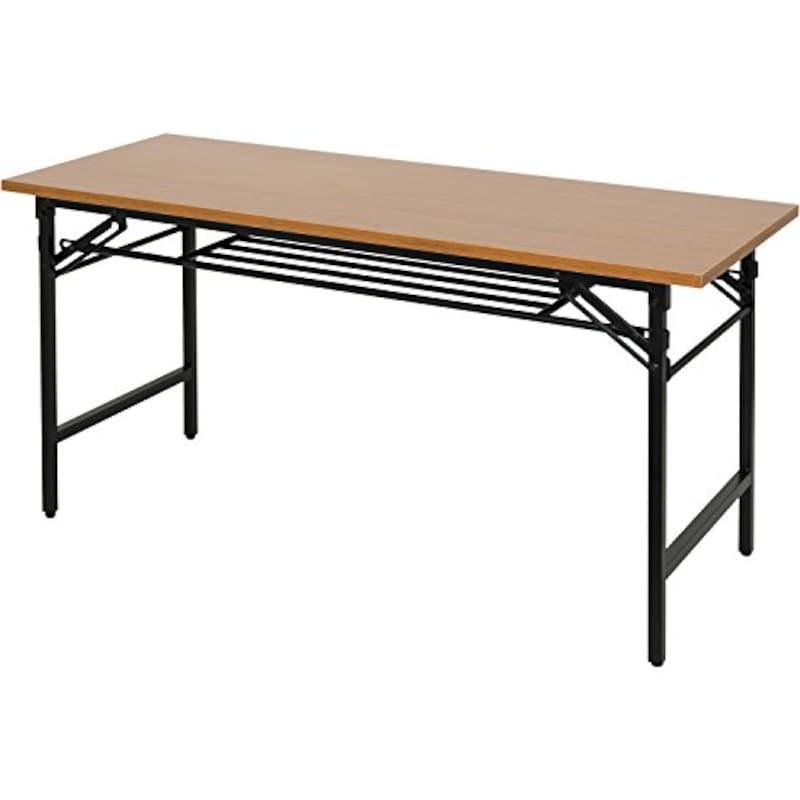 オフィスコム,シンプル折りたたみ会議テーブル,DMB-1560-TK