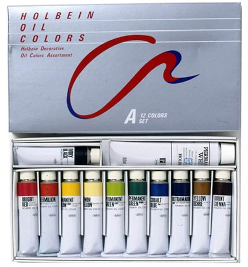 ホルベイン,習作用油絵具 Aセット,B911