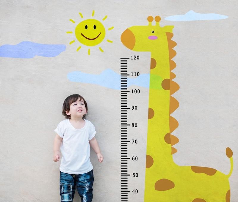 身長計おすすめ人気ランキング13選|子供が喜ぶウォールステッカータイプ